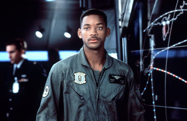 Will Smith dans le film Independence Day en 1996