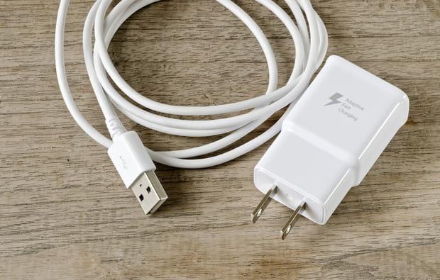 En cas d'oubli de chargeur ou d'adaptateur de téléphone portable…