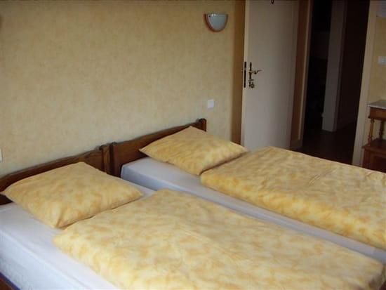 Auberge du Soleil  - Chambre à lits jumeaux -   © Auberge du Soleil