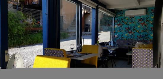 Restaurant : L'Osmose du Lac  - véranda -   © 1239