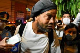 Ronaldinho sort de prison, assigné à résidence dans un hôtel au Paraguay