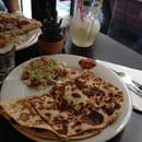 Plat : Black Beans  - Quesadilla chorizo -