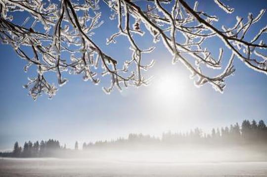 Photographier paysage en hiver