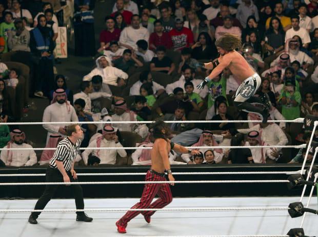 AJ Styles et Shinsuke Nakamura