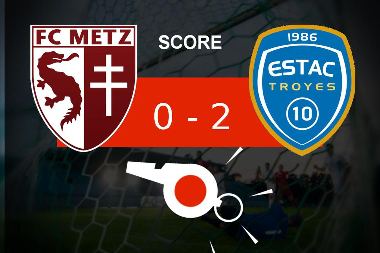 Metz - Troyes: coup dur pour le FC Metz (0- 2), retour sur les moments clés du match