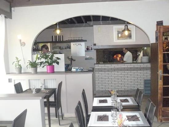 Le Don Camillo  - Vue du four à pizzas du restaurant Le Don Camillo -