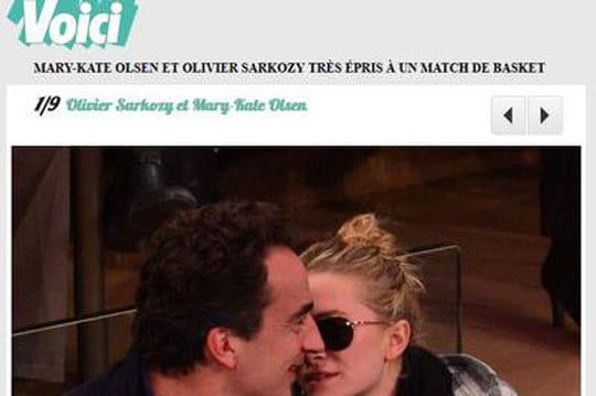 Olivier Sarkozy s'affiche avecMary-Kate Olsen