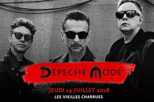 Vieilles Charrues 2018: Depeche Mode, star de la 27e édition