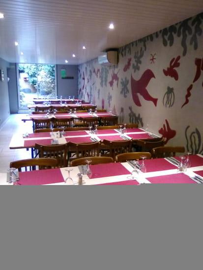 Restaurant du Musée Matisse  - salle restaurant arriere -   © moi meme