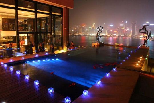 L'hôtel Intercontinental de Hong Kong