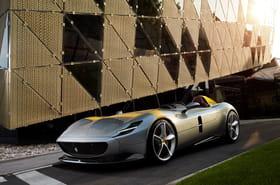 Les photos de l'impressionnante monoplace Ferrari Monza