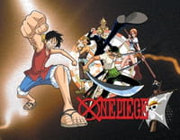 One Piece : Une situation explosive. Le chien, le chat et les samourais !