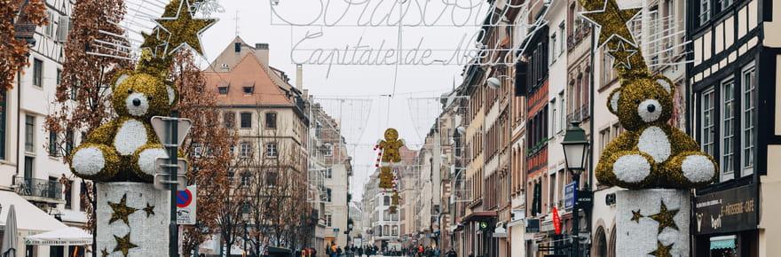 Marché de Noël de Strasbourg: horaires modifiés et sécurité maximale