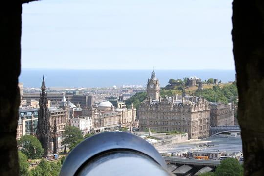 Edimbourg vu du château