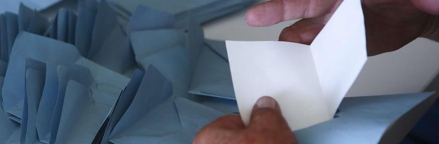 Vote blanc: quel score, définition et prise en compte aux législatives?