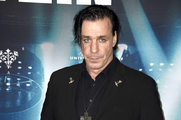 Le chanteur de Rammstein Till Lindemann