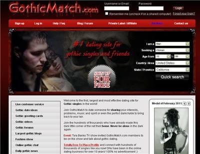 rencontres gothique