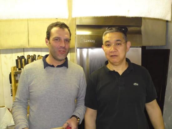 Sushi Hannya  - l'élève et son professeur Takénori Shindo -   © HK