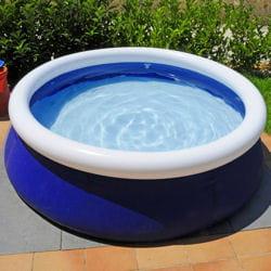 une piscine gonflable de 3 m de diamètre et de 0,76 m de hauteur coûte autour de