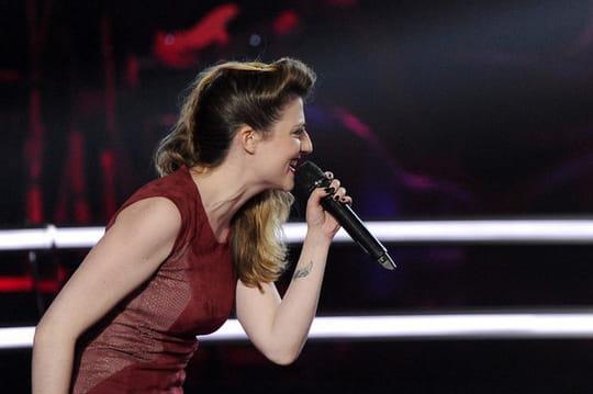 Isa Koper The Voice : elle chante Johnny Hallyday et éclipse Alcidia