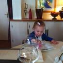 Restaurant : Restaurant L'Arche de Meslay  - Même les bb sont les bien venu et accueilli comme des princesses ,  -