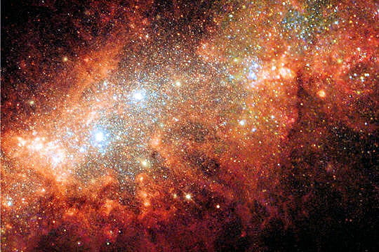 Milliers d'étoiles