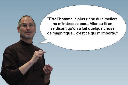 Steve Jobs et sa fortune personnelle