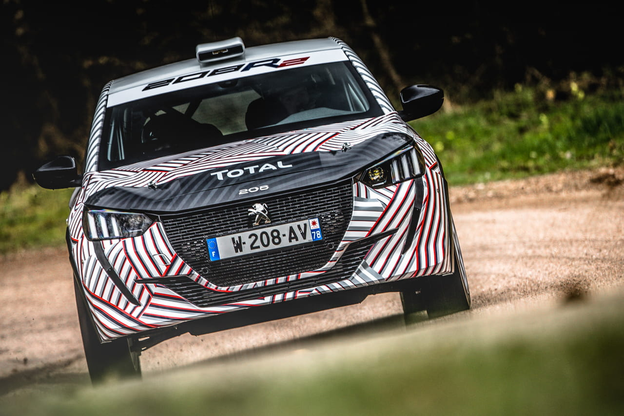 La Peugeot 208R2de Peugeot Sport en images