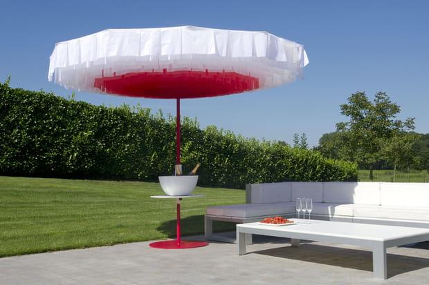 Un parasol original pour le jardin