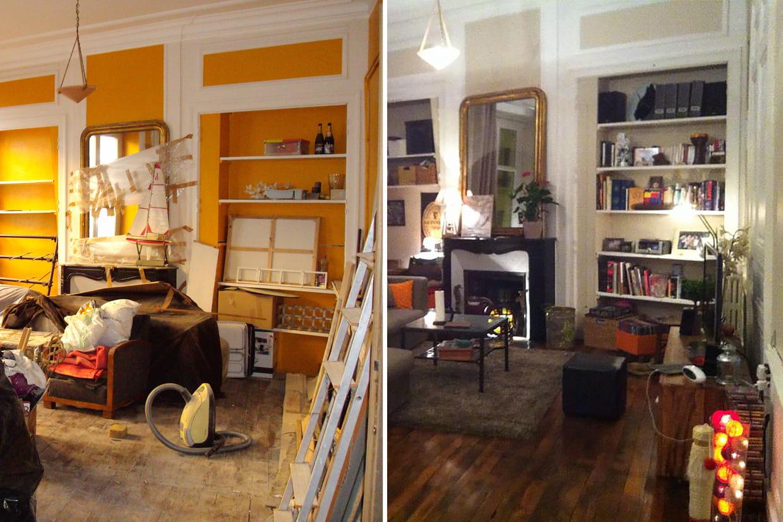 la r novation d 39 une maison belle epoque. Black Bedroom Furniture Sets. Home Design Ideas