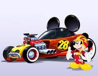 Mickey et ses amis : top départ ! : Arrêt au stand