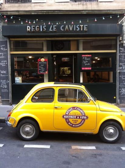 Régis le Caviste  - Le restaurant rue Washington  -
