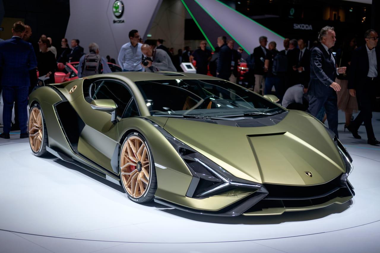 Les photos de la Lamborghini Sian au Salon de Francfort