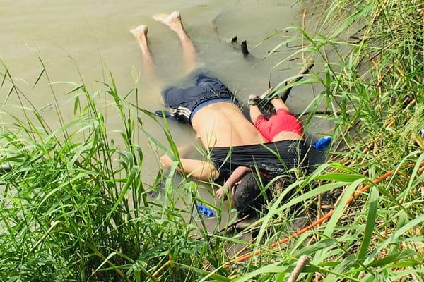La photo de Valeria Ramirez, l'enfant morte dans le Rio Grande en tentant d'entrer aux Etats-Unis avec son père.