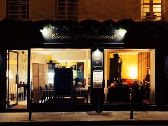 Cuisine Et Dépendances Restaurant Méditerranéen à Paris Avec - Cuisines et dependances