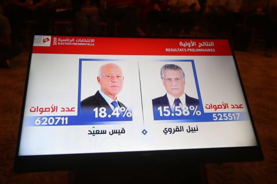 Présidentielle en Tunisie[résultat officiel]: Saied face à Karoui, un favori?
