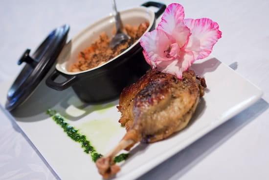 Hôtel***Restaurant-Séminaires Solenca  - Confit de canard au restaurant Solenca -   © Solenca