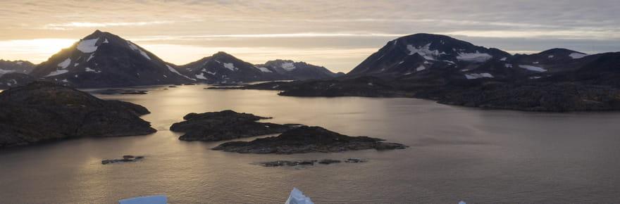 EN IMAGES - Groenland: les glaciers en perdition