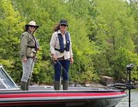 Elles pêchent : Elles pêchent sur la Miramichi