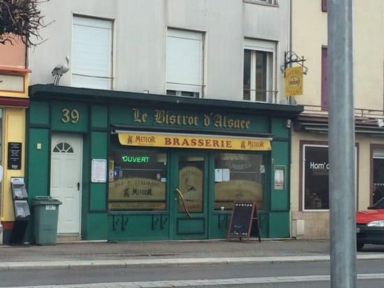 Restaurant : Le Bistrot d'Alsace