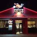 Restaurant : Poivre Rouge  - By Night  -