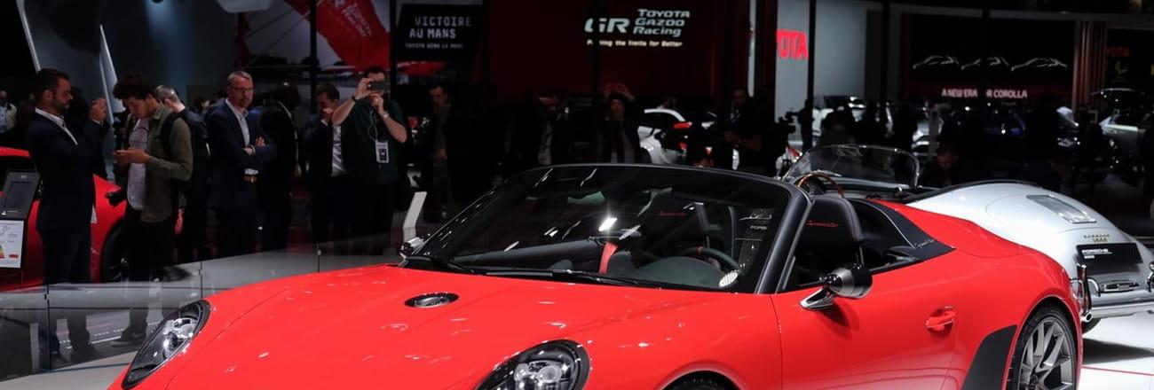 La Porsche 911Speedster en images