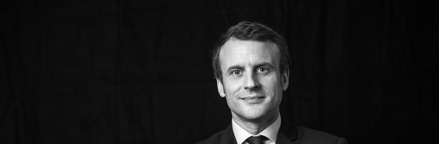 A quoi ressemblera la photo de Macron président?