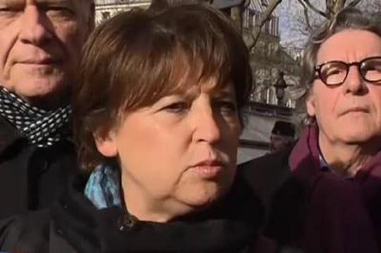 Départementales àLille (Nord): Martine Aubry, elle, n'a pas peur duFN