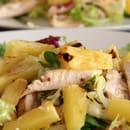 The Placeto Eat  - salade de pates poulet-ananas -
