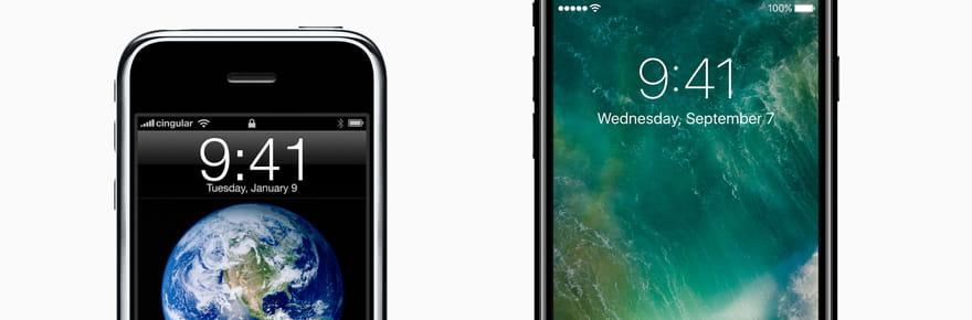 iPhone: ce qui a changé (et non) en 10ans