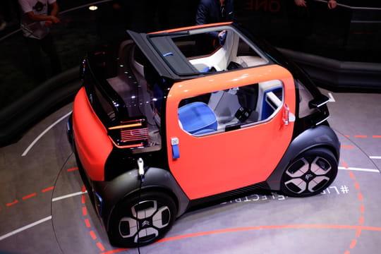 Citroën Ami One Concept: les photos du petit concept pratique à Genève
