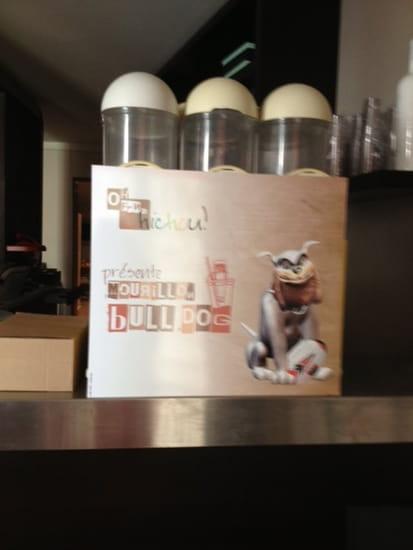 Oh Fan de Chichou !  - creation originale ! cocktail BullDog composé de Margharita frozen & biere renversée ! -   © oh fan de chichou