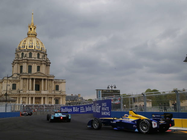 La Formule E à Paris en images