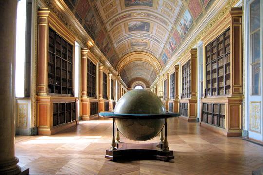 La bibliothèque du château de Fontainebleau